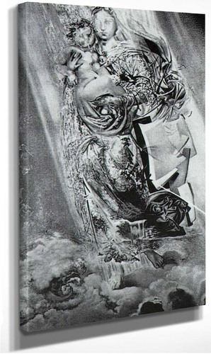 Cosmic Madonna By Salvador Dali