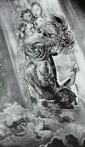 Cosmic Madonna By Salvador Dali Art Reproduction from Wanford
