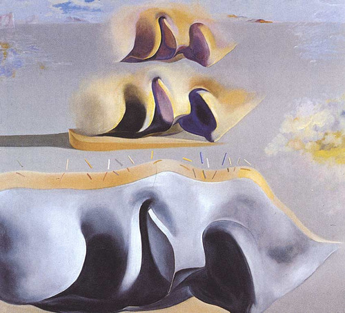 The Three Glorious Enigmas Of Gala Second Version By Salvador Dali Art Reproduction from Wanford.
