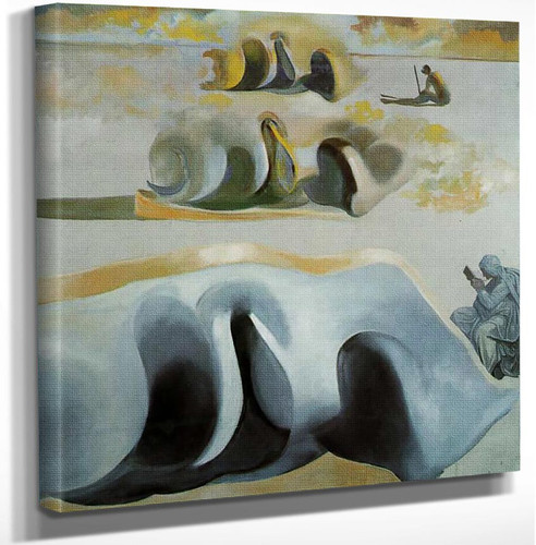 The Three Glorious Enigmas Of Gala By Salvador Dali Art Reproduction from Wanford.