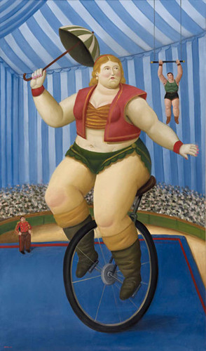 Equilibrist4 By Fernando Botero Art Reproduction from Wanford