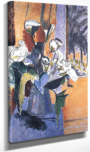 Flowers On The Windowsill 1913 By Henri Matisse