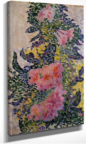 Flowers By Henri Edmond Cross