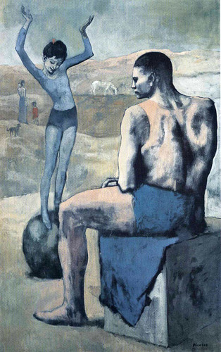 Girl On The Ball 1905 By Pablo Picasso Art Reproduction from Wanford