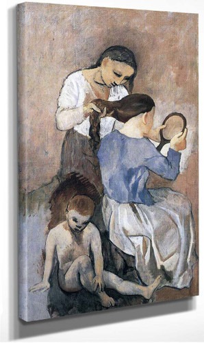 Hairdressing 1906 By Pablo Picasso