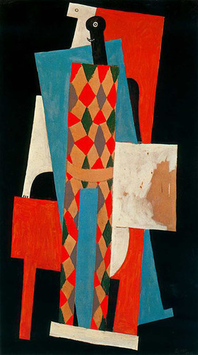 Harlequin 1915 By Pablo Picasso Art Reproduction from Wanford