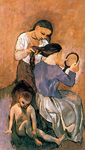 La Coiffure By Pablo Picasso Art Reproduction from Wanford