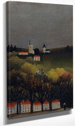 Landscape 1886 By Henri Rousseau