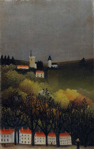 Landscape 1886 By Henri Rousseau Art Reproduction from Wanford