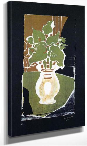 Leaves In Color Of Light 1953 By Georges Braque