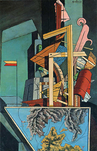 Melancholy Of Department 1916 By Giorgio De Chirico Art Reproduction from Wanford