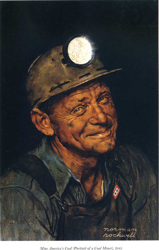 Mine America S 1943 By Norman Rockwell Art Reproduction from Wanford
