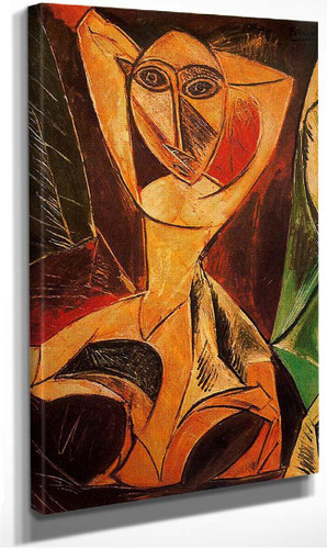 Nude With Raised Arms The Avignon Dancer 1907 By Pablo Picasso