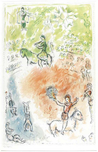 Parade 1980 By Marc Chagall Art Reproduction from Wanford