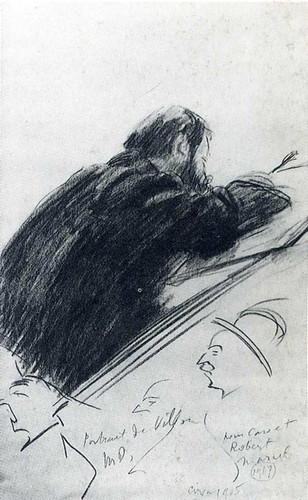 Portrait Of Jacques Villon By Duchamp Marcel Art Reproduction from Wanford