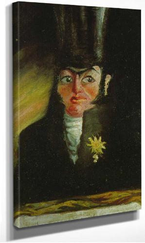 Portrait Of Mr Pancraci By Salvador Dali