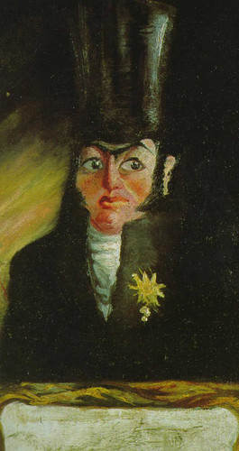 Portrait Of Mr Pancraci By Salvador Dali Art Reproduction from Wanford