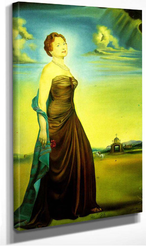Portrait Of Mrs Reeves By Salvador Dali