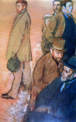 Six Friends Of The By 1885 By Edgar Degas Art Reproduction from Wanford