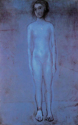 Standing Young Nude 1904 By Pablo Picasso Art Reproduction from Wanford