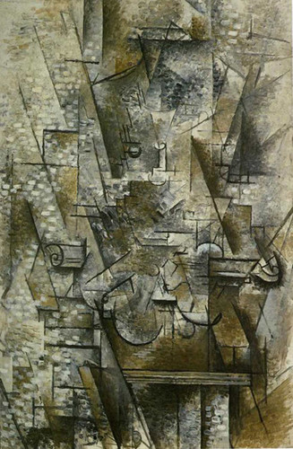Still Life With A Violin 1911 By Georges Braque Art Reproduction from Wanford
