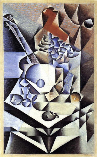 Still Life With Flowers 1912 By Juan Gris Art Reproduction from Wanford