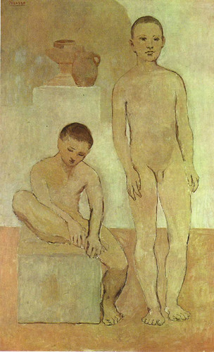 Teenagers 1906 1 By Pablo Picasso Art Reproduction from Wanford