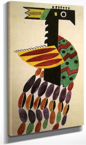 The Creation Of The World Bird Drawing Of Costume 1923 By Fernand Leger