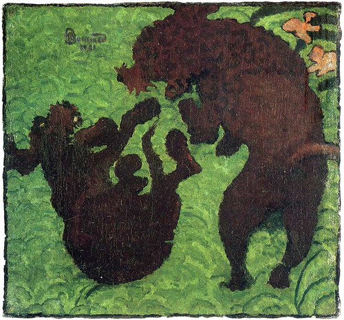 Two Poodles 1891 By Pierre Bonnard Art Reproduction from Wanford.