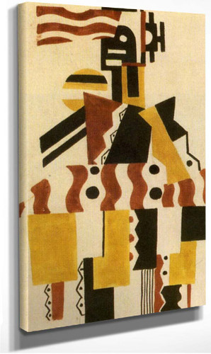 The Creation Of The World Great Figure Drawing Of Costume 1923 By Fernand Leger