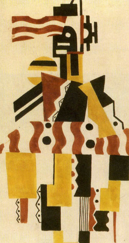 The Creation Of The World Great Figure Drawing Of Costume 1923 By Fernand Leger Art Reproduction from Wanford