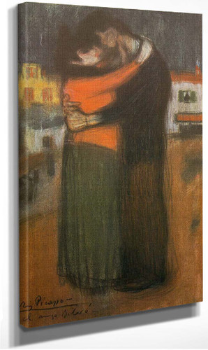 The Embrace In The Street By Pablo Picasso