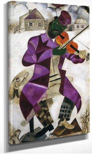 The Green Violinist 1924 By Marc Chagall