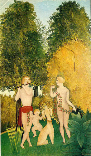The Happy Quartet 1902 By Henri Rousseau Art Reproduction from Wanford