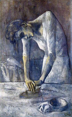 The Ironer 1904 By Pablo Picasso Art Reproduction from Wanford