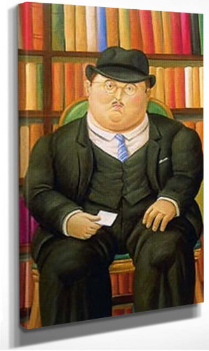 The Notary By Fernando Botero