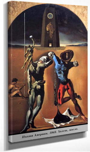 The Poetry Of America Unfinished By Salvador Dali