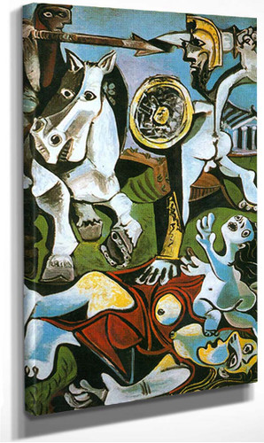 The Rape Of The Sabine Women By Pablo Picasso