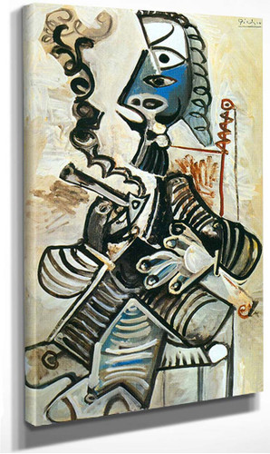 The Smoker By Pablo Picasso
