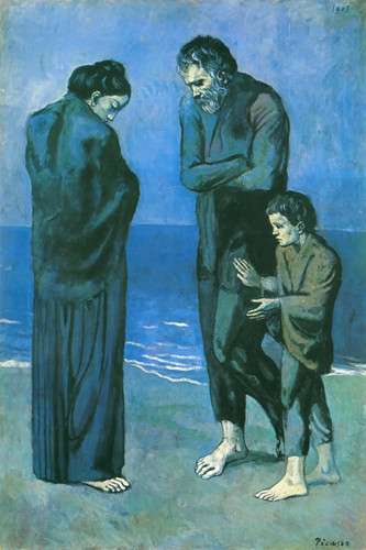The Tragedy 1903 By Pablo Picasso
