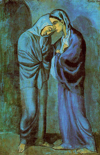 The Visit The Two Sisters 1902 By Pablo Picasso Art Reproduction from Wanford
