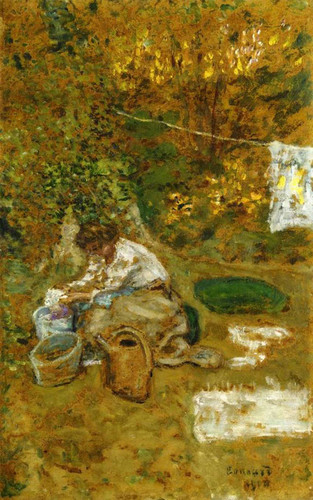 The Washing 1900 By Pierre Bonnard Art Reproduction from Wanford