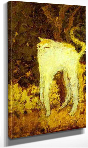 The White Cat 1894 By Pierre Bonnard