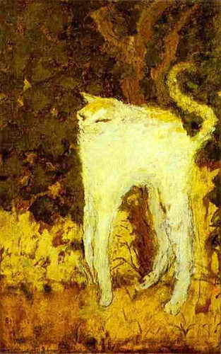 The White Cat 1894 By Pierre Bonnard Art Reproduction from Wanford