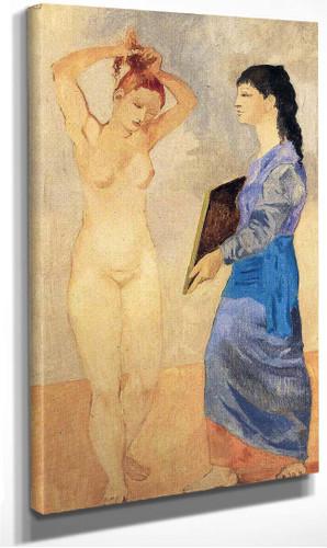 Toilette 1906 1 By Pablo Picasso