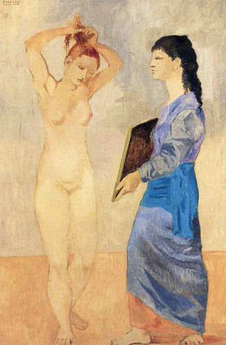 Toilette 1906 1 By Pablo Picasso Art Reproduction from Wanford