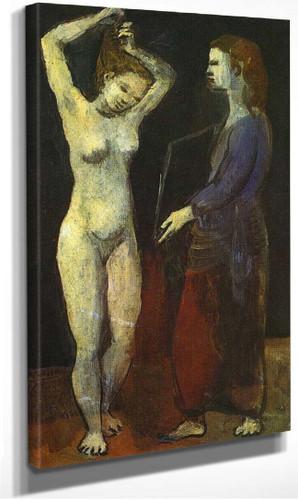 Toilette 1906 By Pablo Picasso