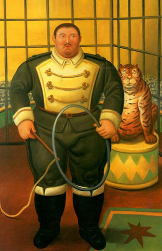 Trainer 2 By Fernando Botero Art Reproduction from Wanford