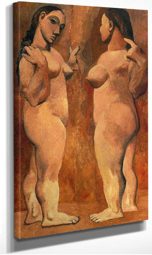 Two Nude Women 1906 1 By Pablo Picasso