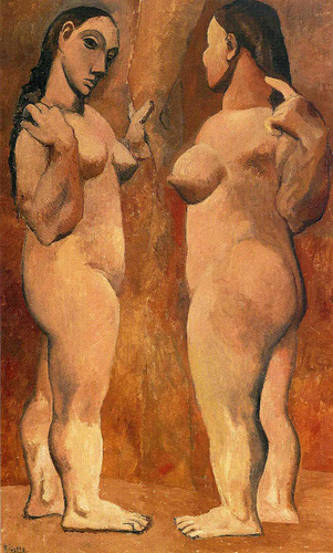 Two Nude Women 1906 1 By Pablo Picasso Art Reproduction from Wanford